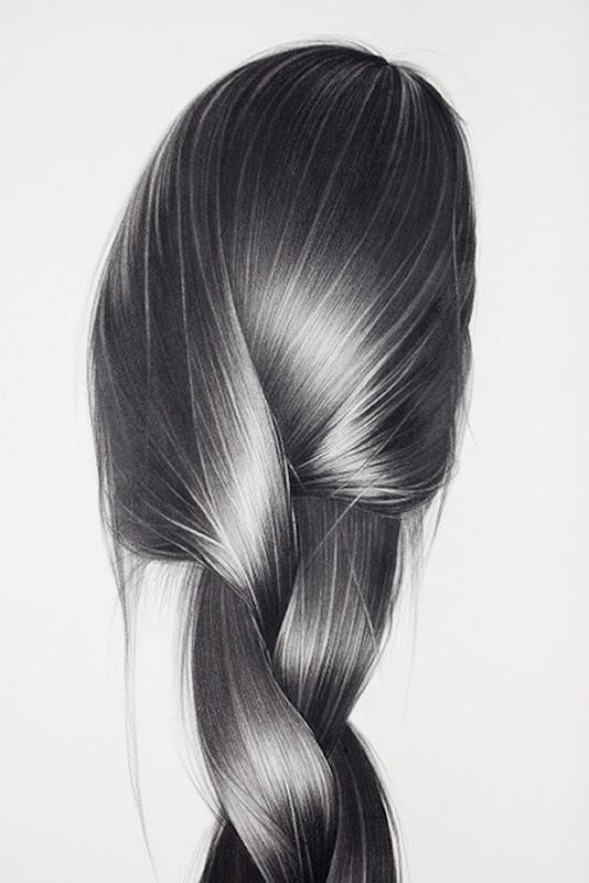 pencil on paper. by Hong Chun Zhang.