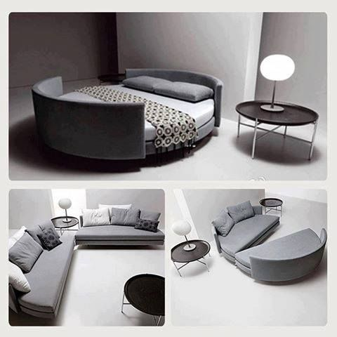 How Creative For A Studio Apartment Or Small Condo Living Room By Day Bedroom