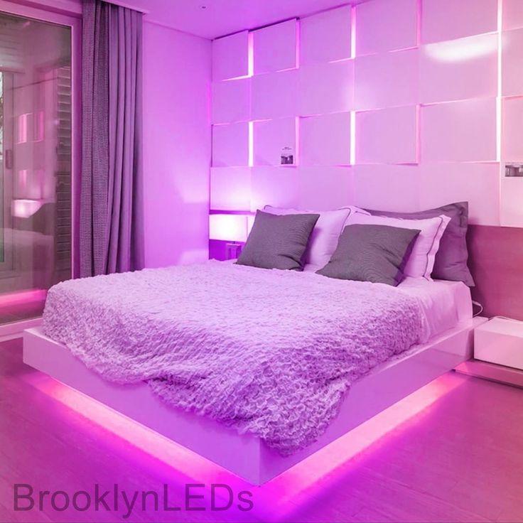 rgb lighting ideas bedroom rgb lighting ideas in 2020 teenage girl room decor girls room on cute lights for bedroom decorating ideas id=86702