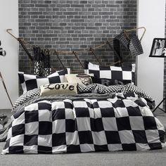 4pcs cotton solid hotel bedding-set bedding sets sheets duvet cover roupa de cama king size bedclothes bedspread no comforter 01