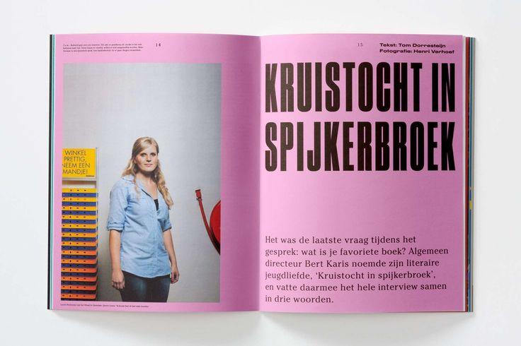Studio Dumbar: Creatie Magazine Editorial Design