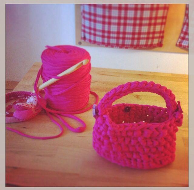 Crochet bag Mathilda ❤️