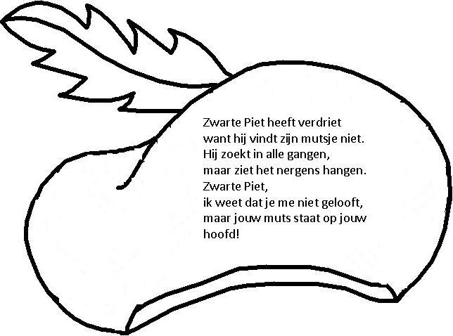 De Kikkerklas: Versje 'Zwarte Piet heeft verdriet'
