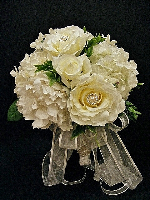 White bridal bouquet annette at michaels arts amp crafts madison tn