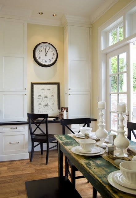 traditional kitchen by amoroso design the built in desk space could be a nice fit in several areas of the home