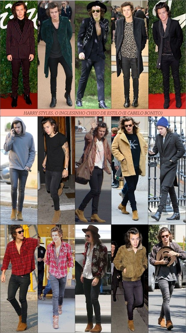 ESTILO Harry Styles | Fashionismo