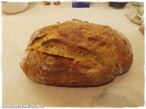 Fantastický chlieb bez váženia bez miesenia