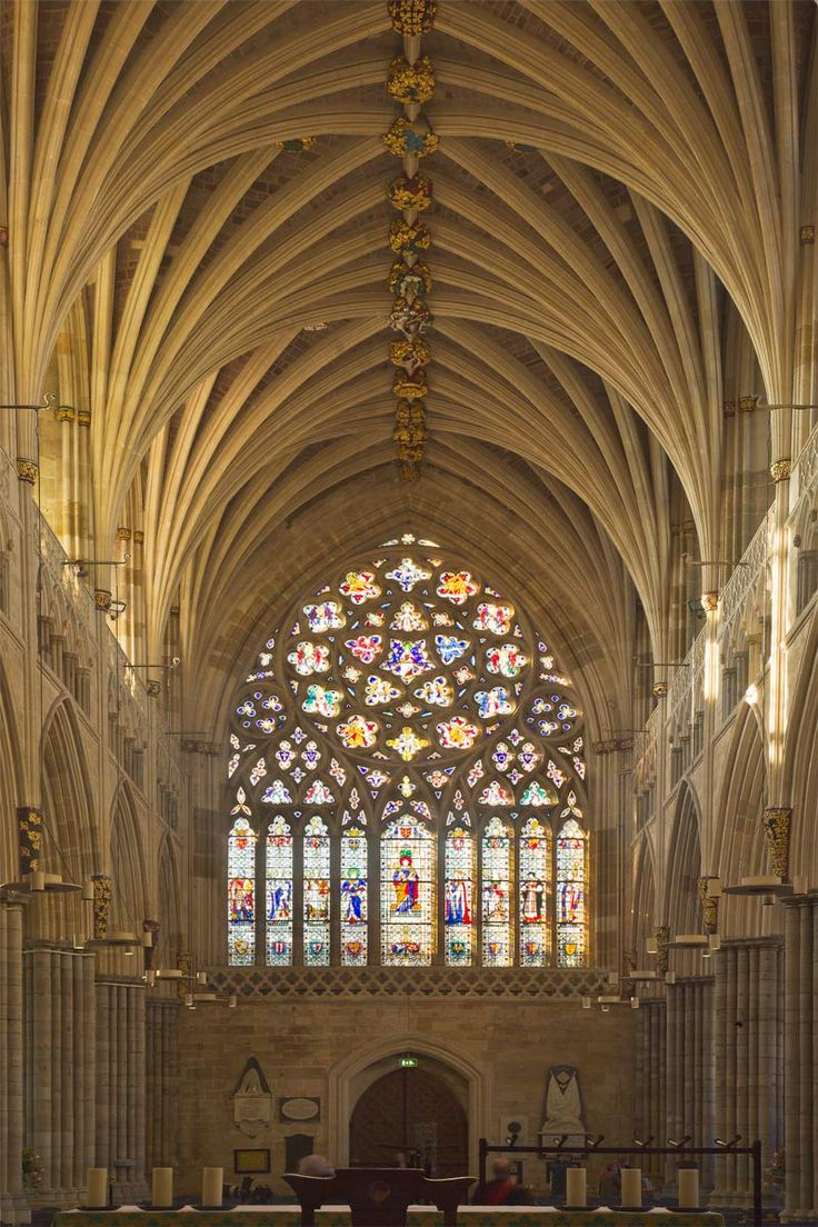 People and Place OCA: level 1: EXETER CATHEDRAL Gothic architecture