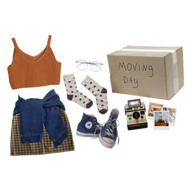 moving day by cosmicgal | Women's Fashion