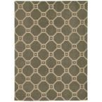 Color Motion Stone (Grey) 2 ft. 3 in. x 3 ft. 9 in. Accent Rug
