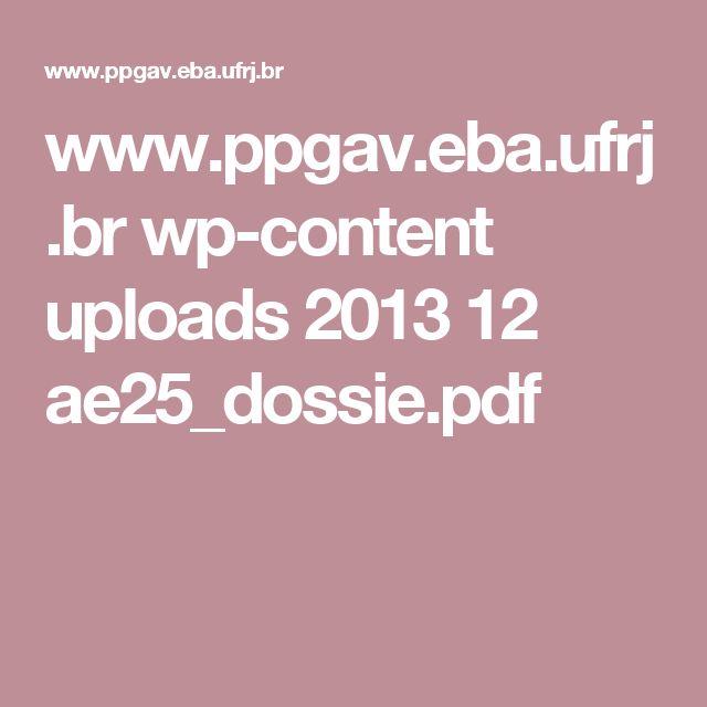 www.ppgav.eba.ufrj.br wp-content uploads 2013 12 ae25_dossie.pdf