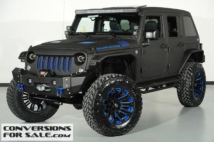 2015 Jeep Wrangler Unlimited Rubicon Kevlar Coated Lifted