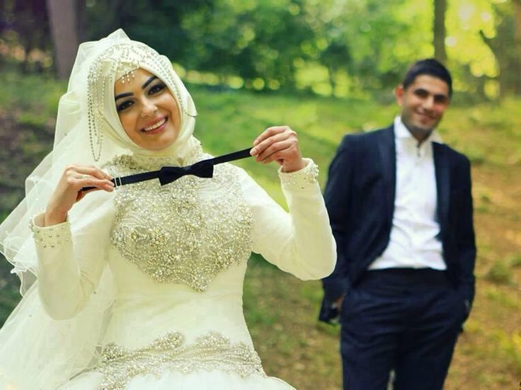 romantic muslim couple