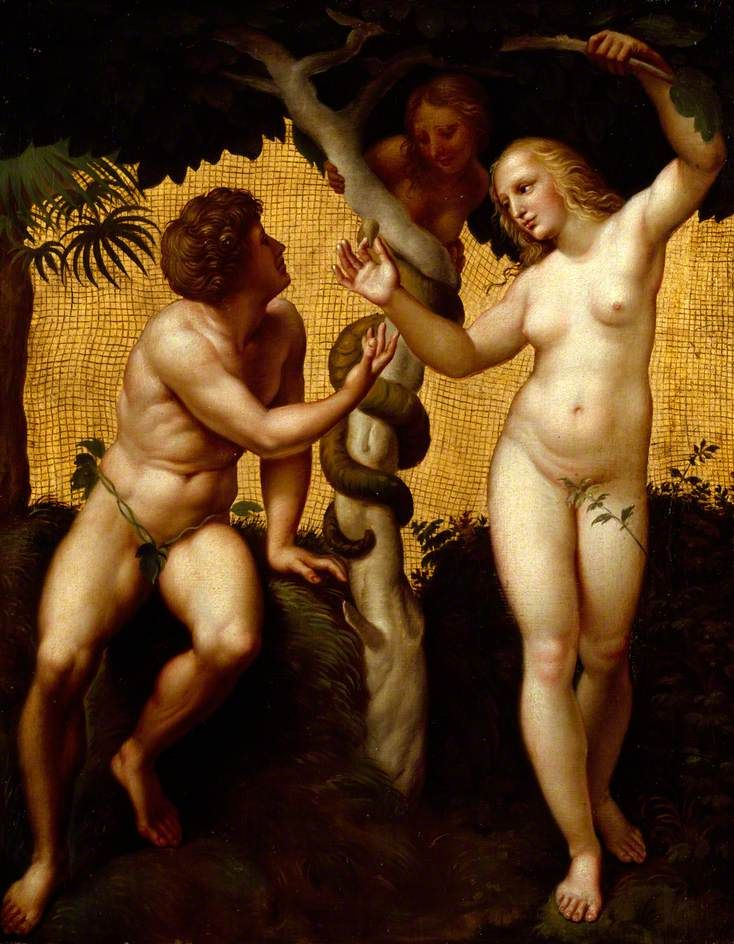 Nude Adam and Eve in Early Christian Art - The Body is