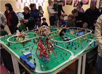 Longest Continuous Lego Monorail Display
