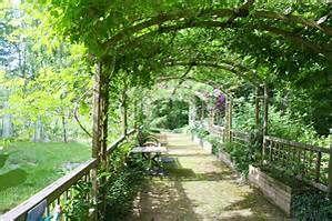 Portteja puutarhaan..