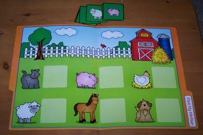 Farm File Folder
