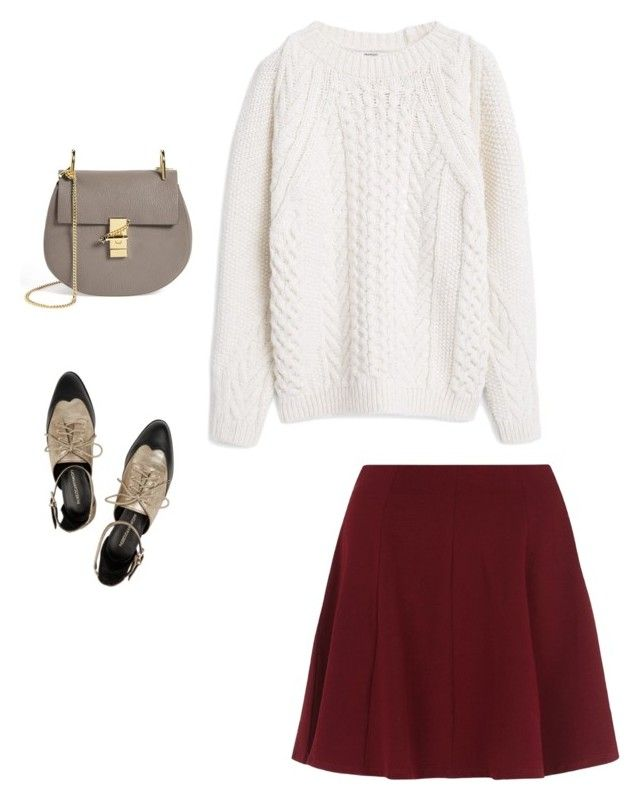 """""""Casual day"""" by lilyks on Polyvore featuring Chloé, MANGO and Rebecca Minkoff"""