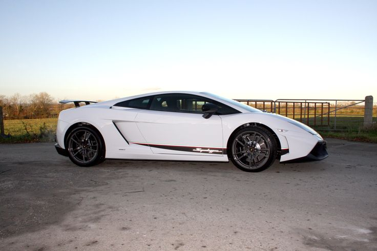 The beautiful Lamborghini Superleggera - try to look at this supercar without smiling.