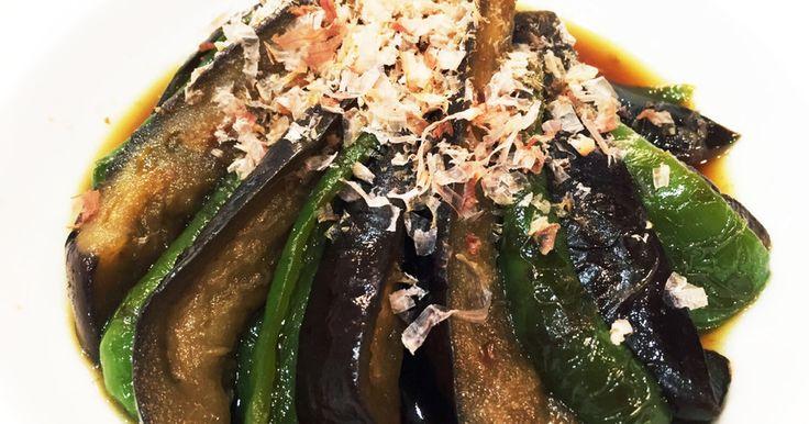 んま!茄子ピーマンの和風炒め煮。:°ஐ♡ by ゆりらび姫。:°ஐ♡ [クックパッド] 簡単おいしいみんなのレシピが235万品