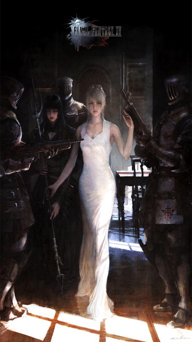 Final Fantasy XV : de somptueux Artworks et des détails sur les personnages