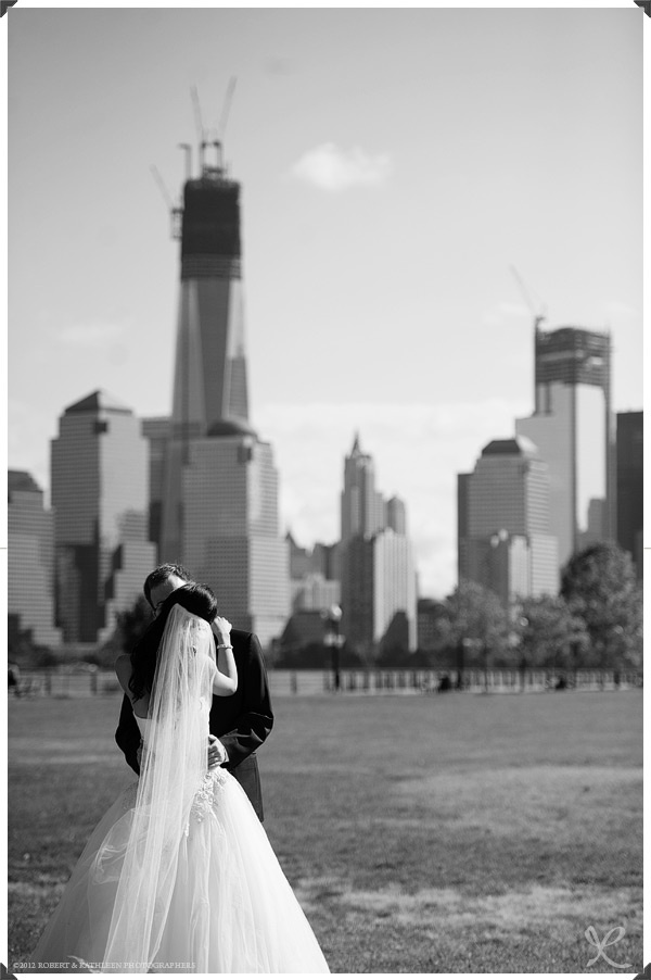 low budget wedding new jersey%0A New Jersey Wedding Photography  Robert and Kathleen Photographers   Liberty  House  Jersey City