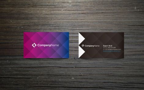 Free Corporate Business Card Template by PixEden (Vol 1)