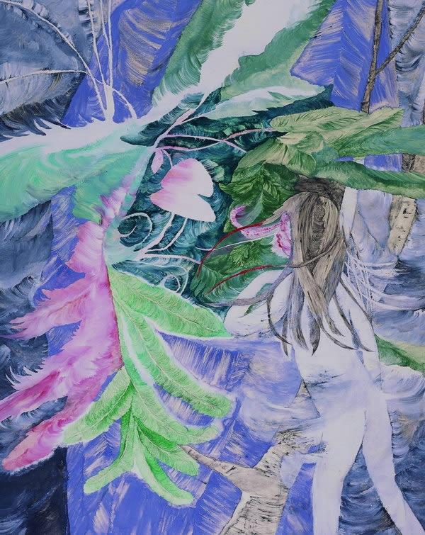 Kyoko Murase    Around the lilac rock No.1