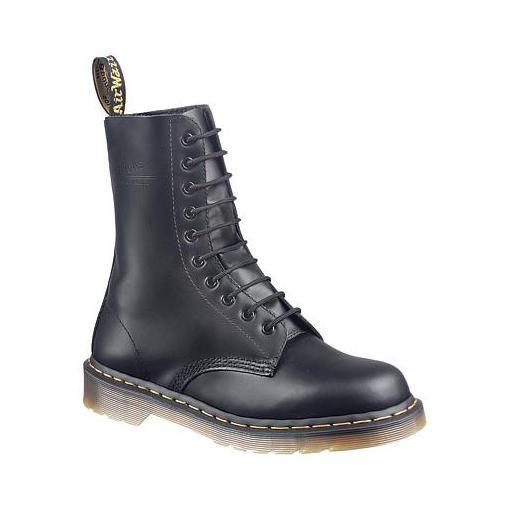 Dr. Martens Original 1490 DML Casual Shoes in Black Smoot.