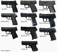 9mm compacts comparison (RRViper) Tags: hk chart 26 millenium pro sw springfield mp sig handgun comparison taurus kel usp xd compact tec 9mm glock beretta pps walther sauer ruger subcompact px4 p250 pf9