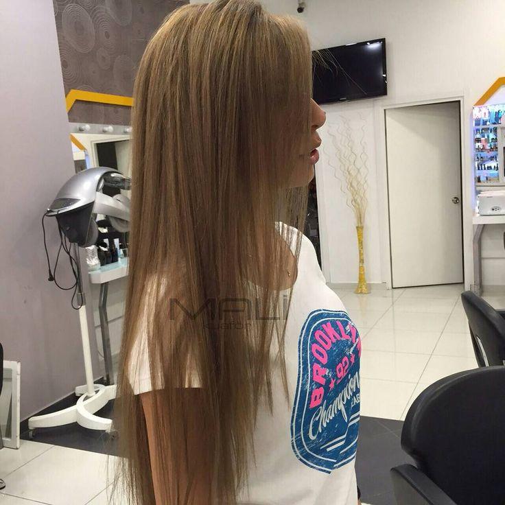 """""""Düz uzun saçlar... #malikuafor #uzunsaç  #duzsac"""""""