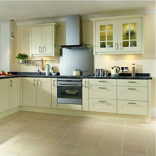 Kitchen Lighting Pelmet: Wickes Marlow Classic Pelmet 3m