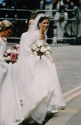 Lady Sarah Armstrong Jones to Daniel Chatto 1994 wedding