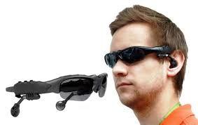 Ochelari de soare cu mp3 si bluetooth foarte cool si utili. Casca pentru telefon sau MP3 Player cu 4Gb de memorie! La PRO TV i-au numit ochelarii spion. :)  http://www.gadgetworld.ro/ochelari-de-soare-cu-mp3-si-bluetooth-pentru-handsfree.html