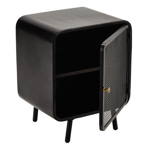 die besten 25 nachttisch metall schwarz ideen auf pinterest klempnerrohr regale rohrbettung. Black Bedroom Furniture Sets. Home Design Ideas