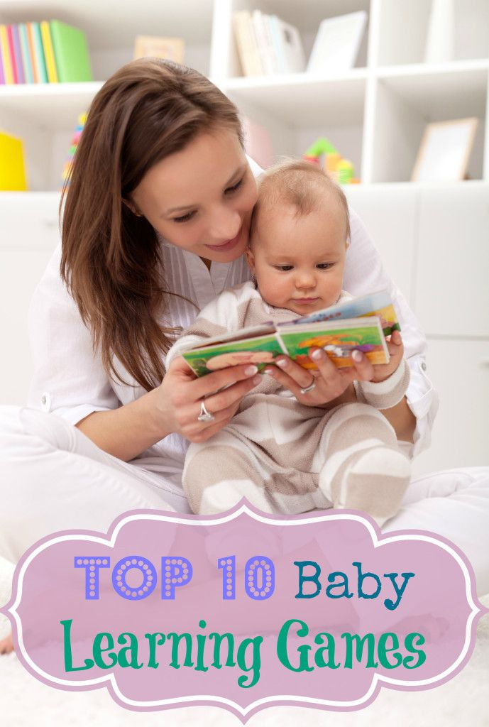 Top 10 Baby Learning Games - looove this list, need to remember some of these for birthday presents and Christmas presents!