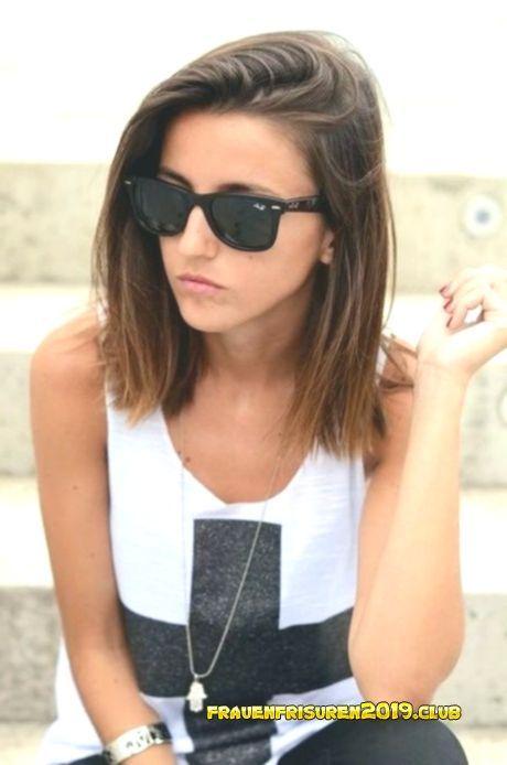Stufig Frisuren Frauen – Mittlere Haarfrisuren f…