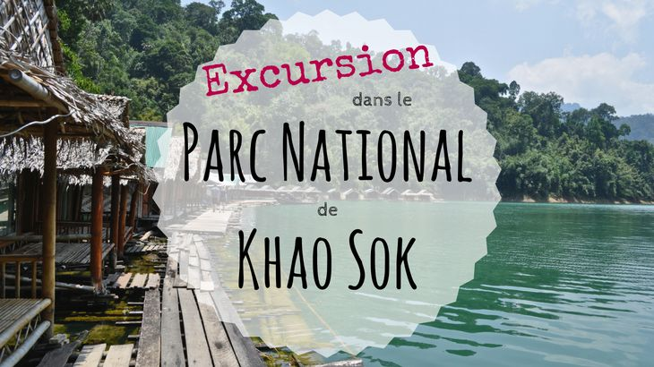 Excursion dans le Parc National de Khao Sok en Thaïlande : Avis & conseils - Excursion in the National Park of Khao Sok in Thailand : Feedback & Advices