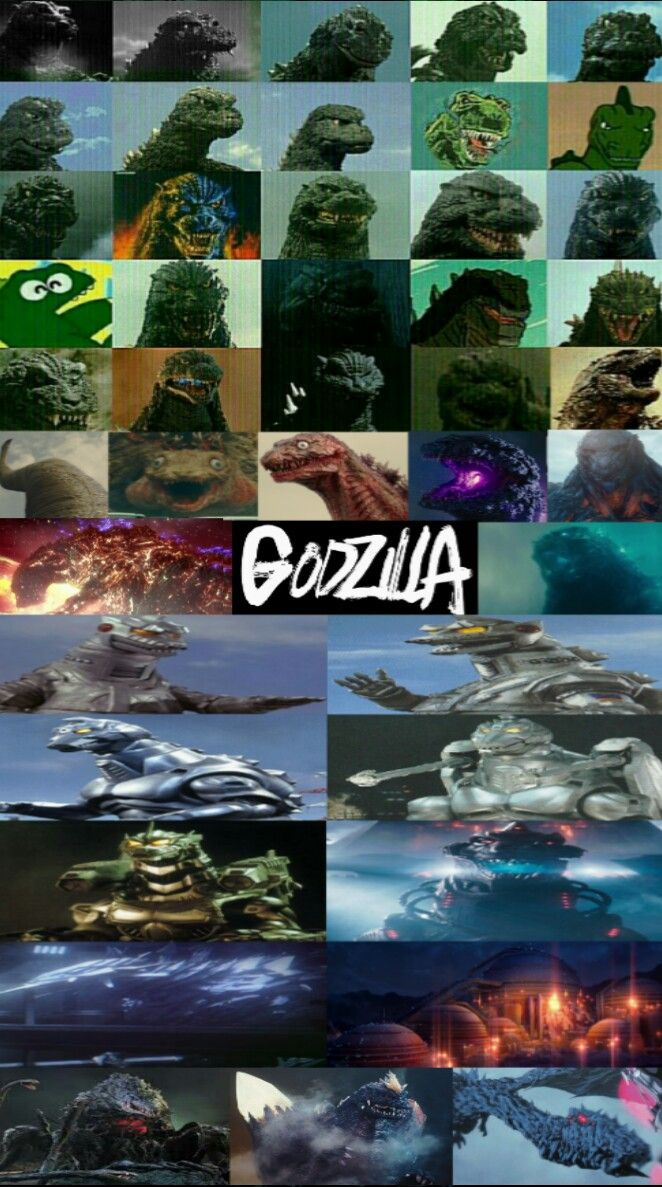 All Godzilla's and Godzilla Related Monsters | A hypothetical all