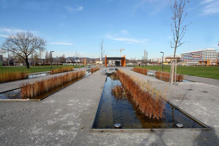 Rudolf bednar park wien hager landscape architecture 05 parks and public gardens - Landschaftsarchitektur osterreich ...