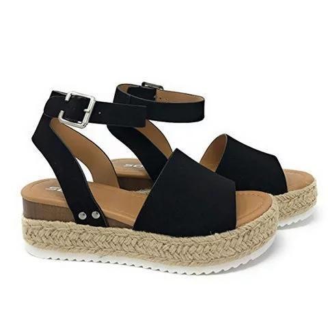 f00ab3f4076 Summer Adjustable Buckle Platform Sandals in 2019 | Shoes | Platform ...
