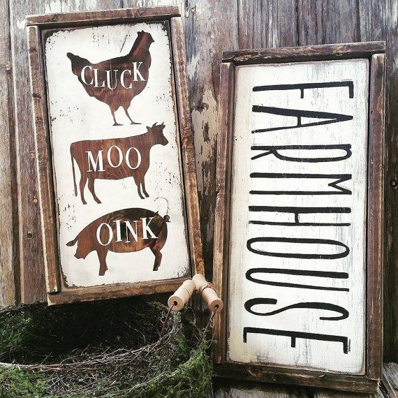Farmhouse Sign  Farmhouse Decor  Cottage Kitchen  by ThreeArrowsCo