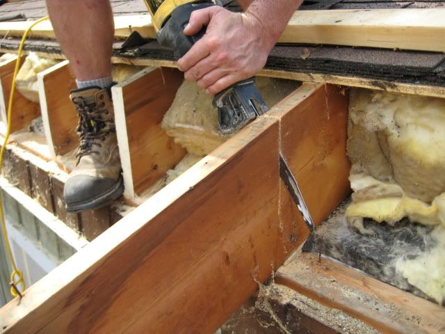 Sister Repair For Rotted Rafter Tail Google Search