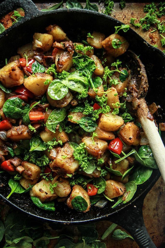 Vegan Breakfast Skillet Heather Christo Recipe In 2020 Vegan Breakfast Recipes Healthy Healthy Vegan Breakfast Vegan Breakfast Recipes Easy