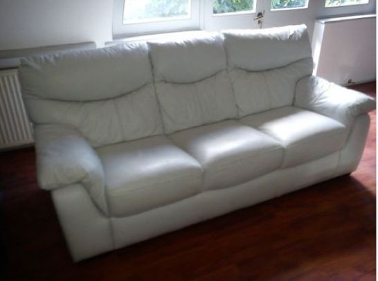 long white leather