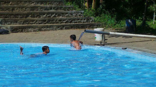 Happy swimming at Andeman
