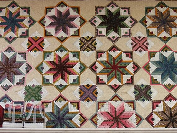 Eldon Quilt Pattern And Kit By Lollysfabrics On Etsy