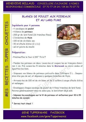 BLANC POULET POIREAUX/LARD