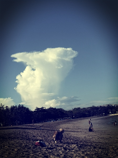 the Cloud, #Kuta #Beach - #Bali, #Indonesia