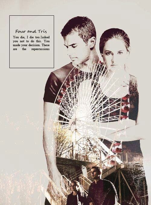 insurgent four and tris relationship questions